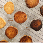 Hazelnut cookies oven experiment three different temperatures