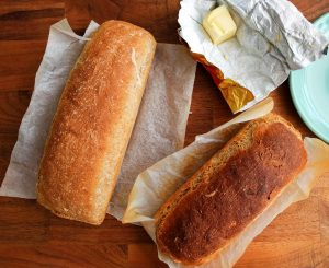 Italian bread oven experiment
