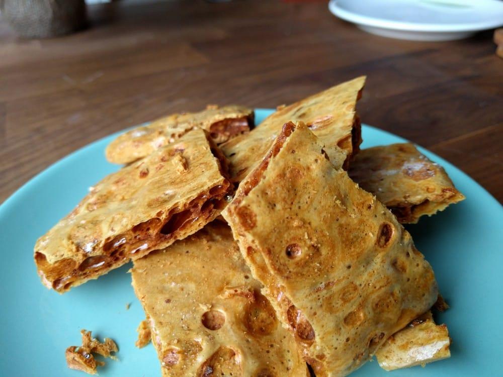 honeycomb too high baking soda content