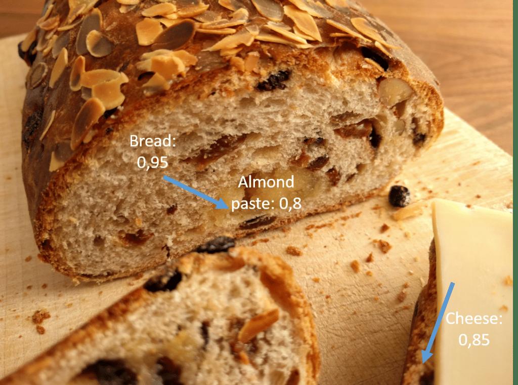 Moisture migration bread