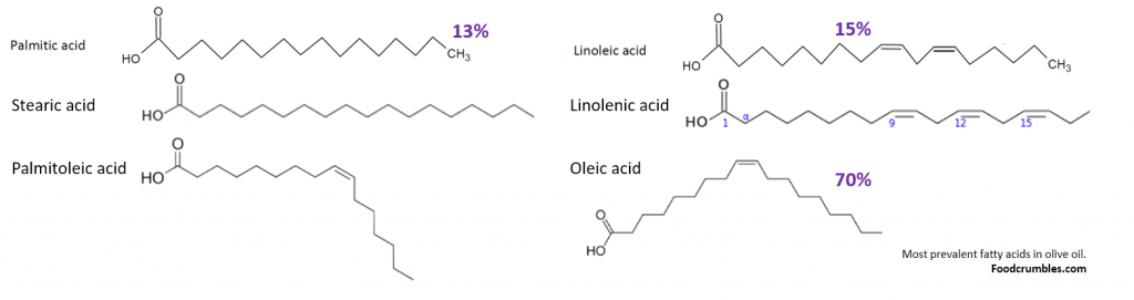 most-prevalent-fatty-acids-in-olive-oil