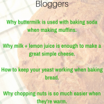 5 Easy to use Food Science Examples for Food Bloggers