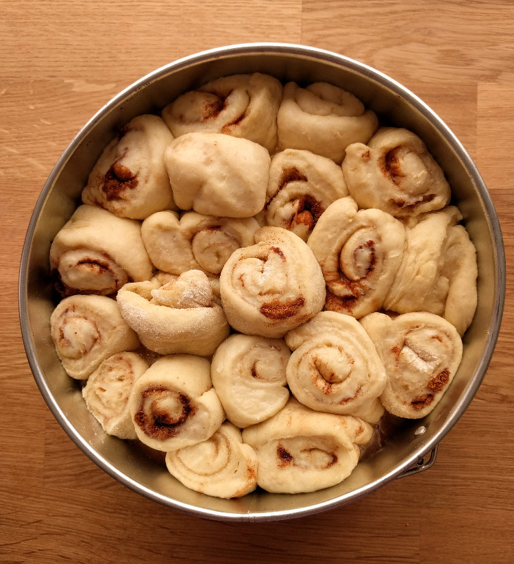cinnamon rolls ready to bake