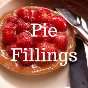 Pie fillings