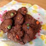 M&M chocolate cookies 2