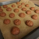what happens in the oven - finished cookies