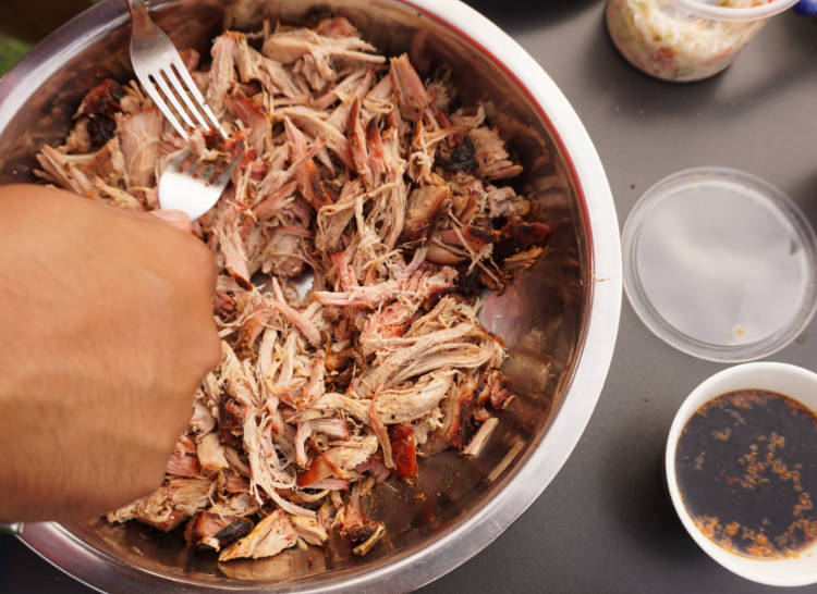 pulling the pulled pork