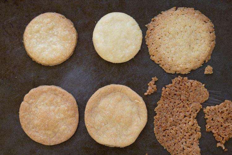6 different shortbread cookie recipes
