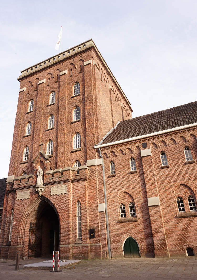 one of the main buildings of the koningshoeven abbey