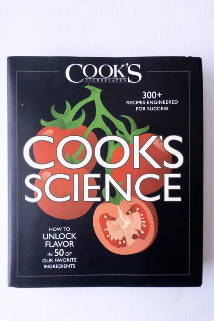Cook's Illustrated book cook's science