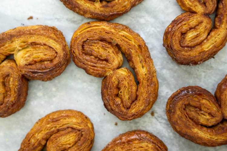 palmier cookies