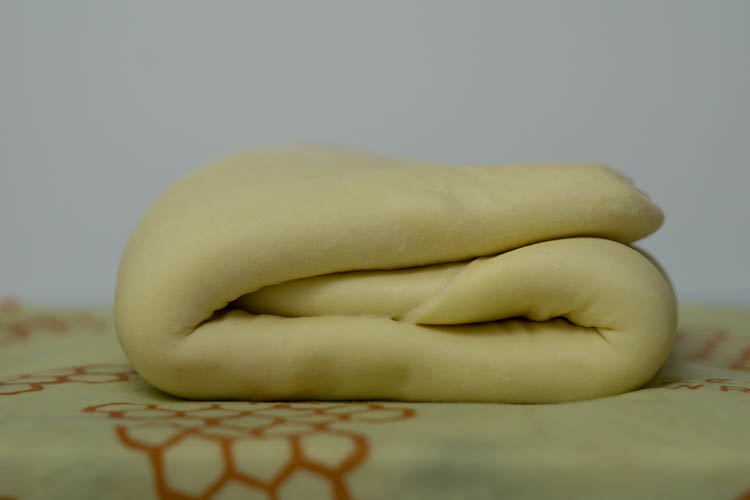 letter fold puff pastry