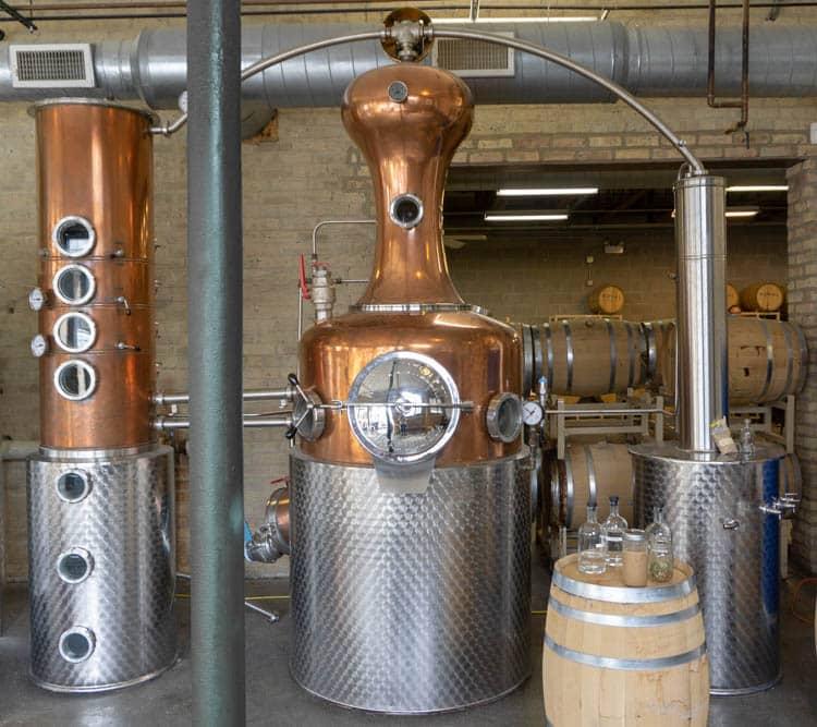 distillery unit