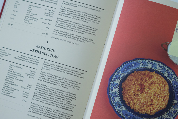 Turkish cookbook rice