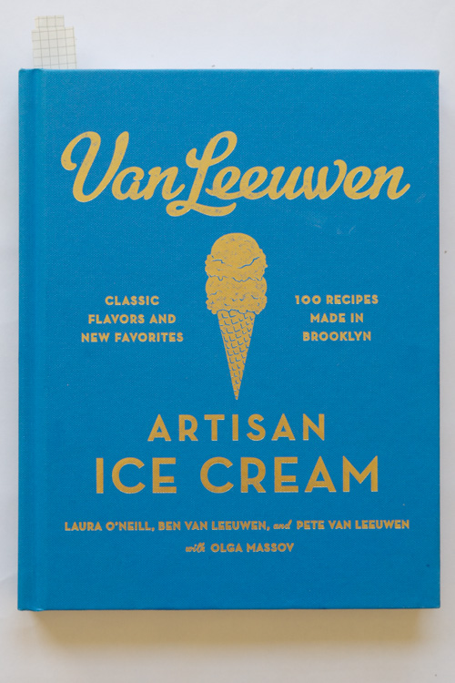 Van Leeuwen artisan ice cream book cover