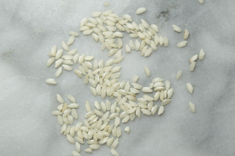 risotto rice kernels
