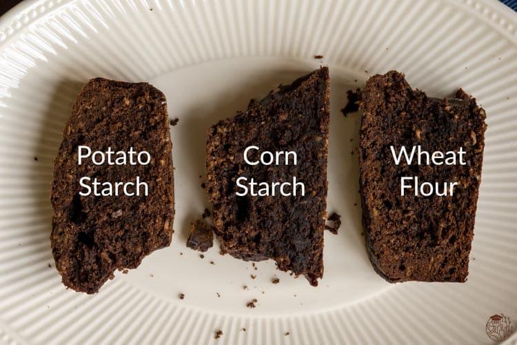 three brownie types