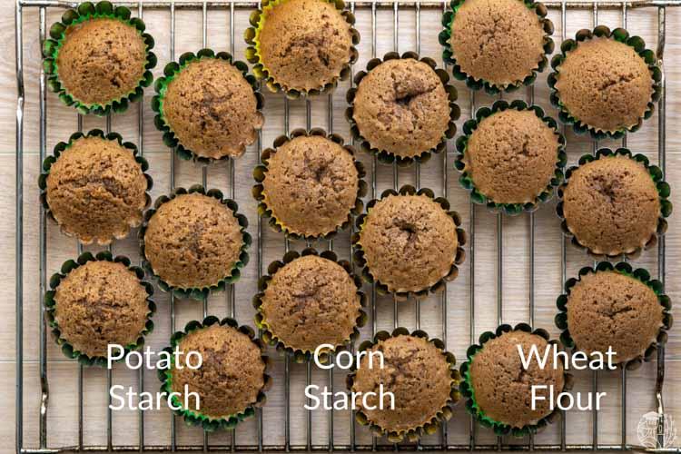 3 cupcake varieties